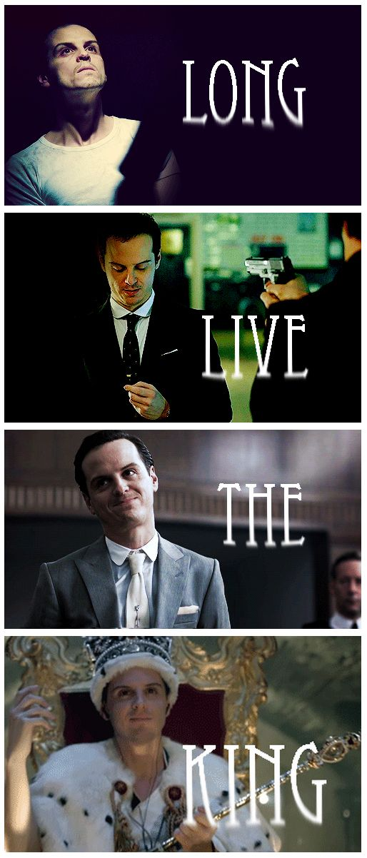 Andrew Scott as Jim Moriarty in 'Sherlock'