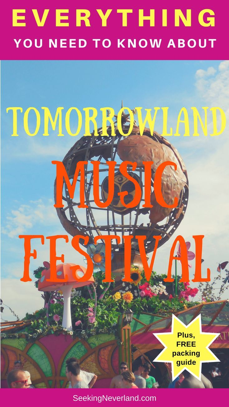 Are you ready for the most epic music festival in the world? Read this complete guide on EVERYTHING you need to know about #tomorrowland #musicfestival PLUS, claim your FREE #packing guide!