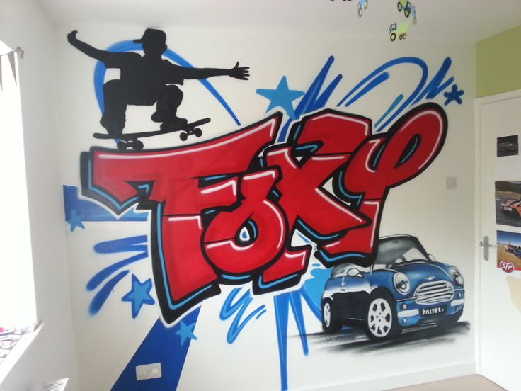 Best Abstract Graffiti Bedroom Boys From Images On