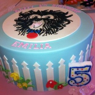 Hairy Maclary Birthday Party - Cake Image