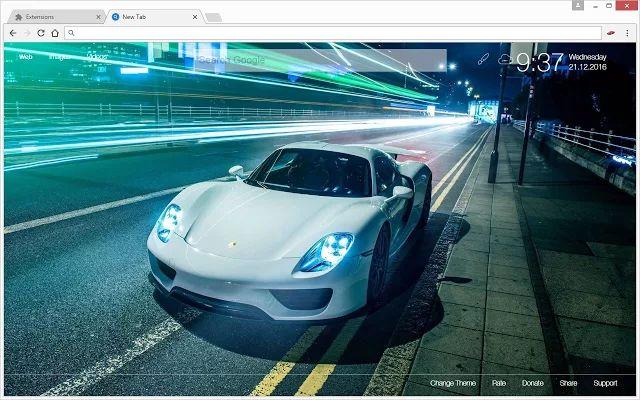 Sports Cars - Super Cars Wallpaper HD New Tab Themes