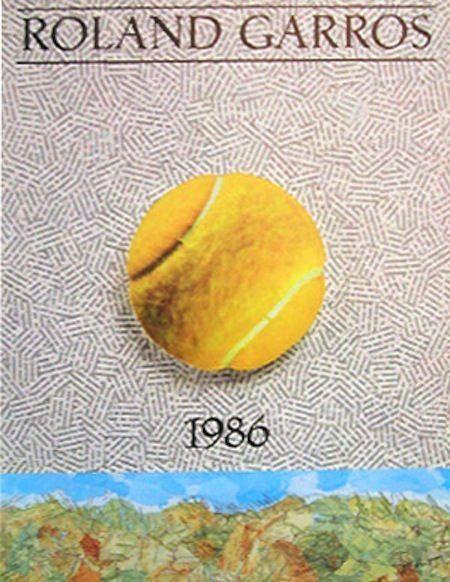 El arte del tenis: 32 posters de Roland Garros - Grand Slam - Tenis, Noticias de Tenis – Especial Tenis El Pais