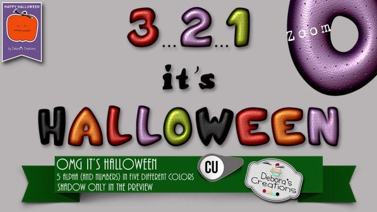 OMG it is Halloween by Debora's Creations (CU)