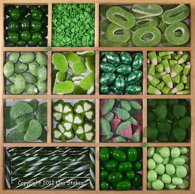 green candy... Ideas For bridal shower candy bar