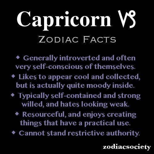 Capricorn... I don't really believe in or follow the whole zodiac thing but this is pretty spot on!