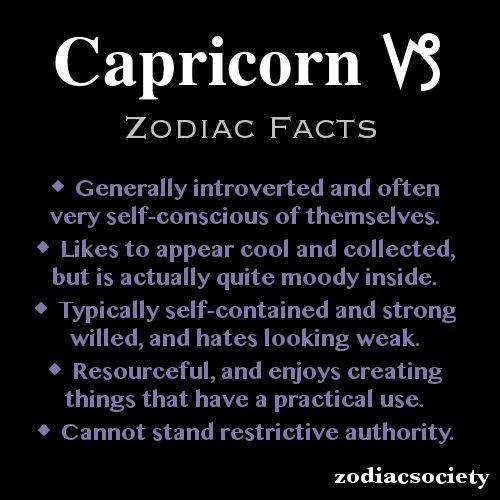 Capricorn Zodiac Facts