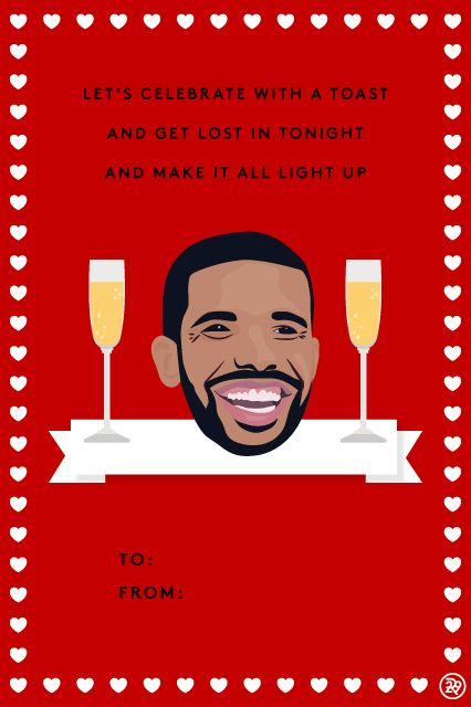 11 Valentineu0027s Cards, Set To Drake Lyrics