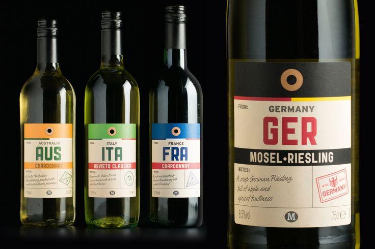 label / wine / Morrisons - Elmwood
