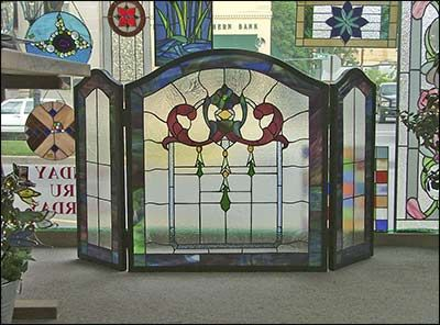 leaded glass fireplace screens. Fireplace screen 10 best Stained Glass Screens images on Pinterest