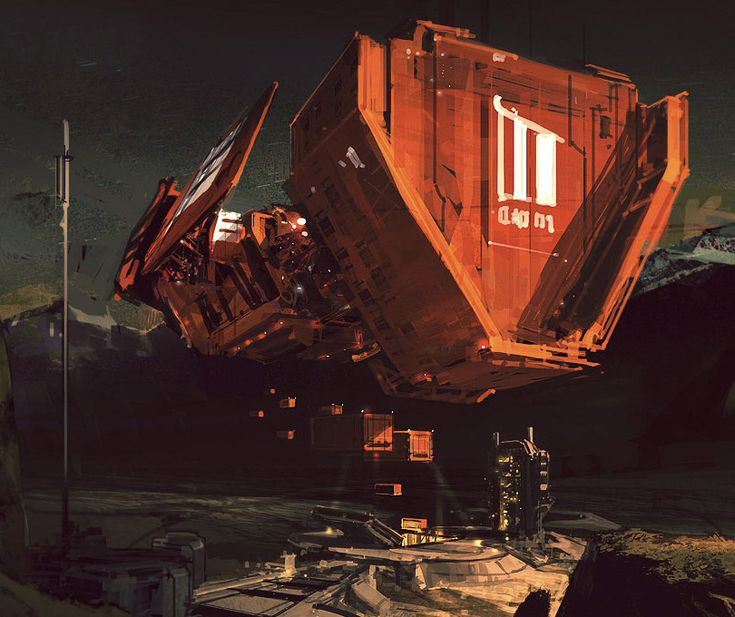 Sci Fi Art At Its Finest By Japanese: Concept Ships By Sparth (is Most Def One Of The Best Sci