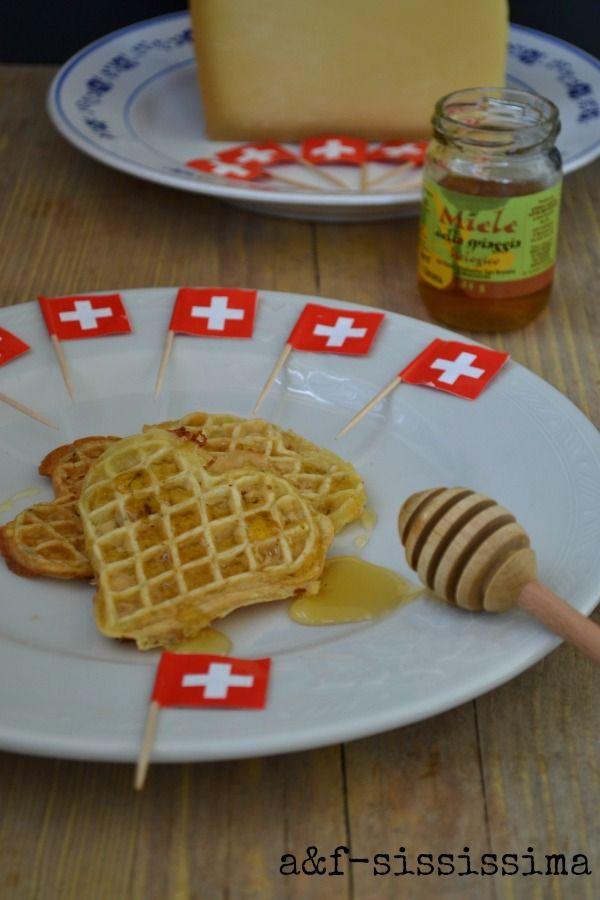 cialde con formaggio e miele