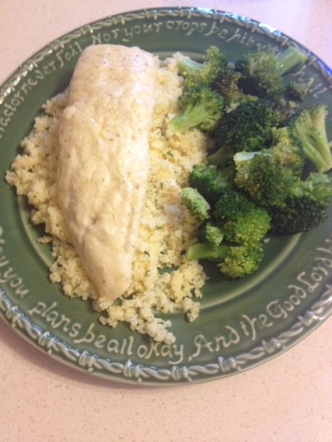 Baked Parmesan Tilapia - delicious and easy!