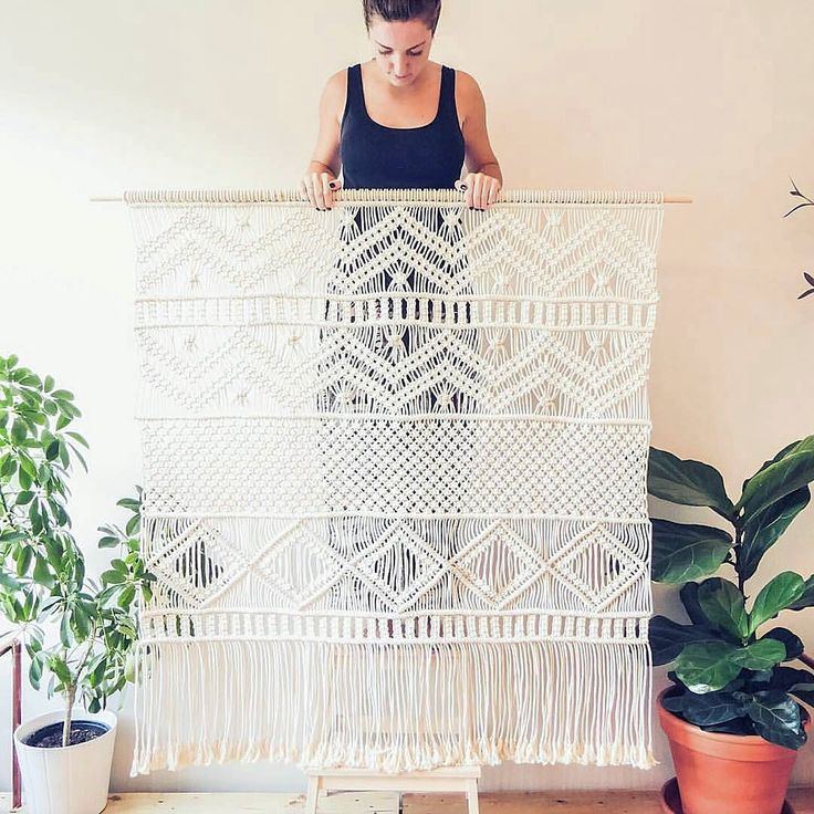 25+ Best Ideas About Macrame Curtain On Pinterest