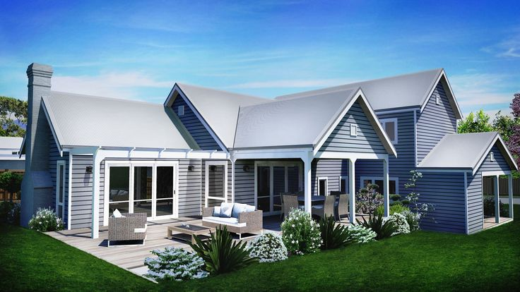 Sakura House Picture of Storybook Split Level Design Sloping Site Gables Farmhouse and two storey design traditional design sloping site design all 3 bedroom