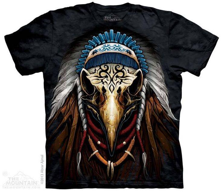 The Mountain - Eagle Spirit Chief T-Shirt, $20.00 (http://shop.themountain.me/eagle-spirit-chief-t-shirt/)