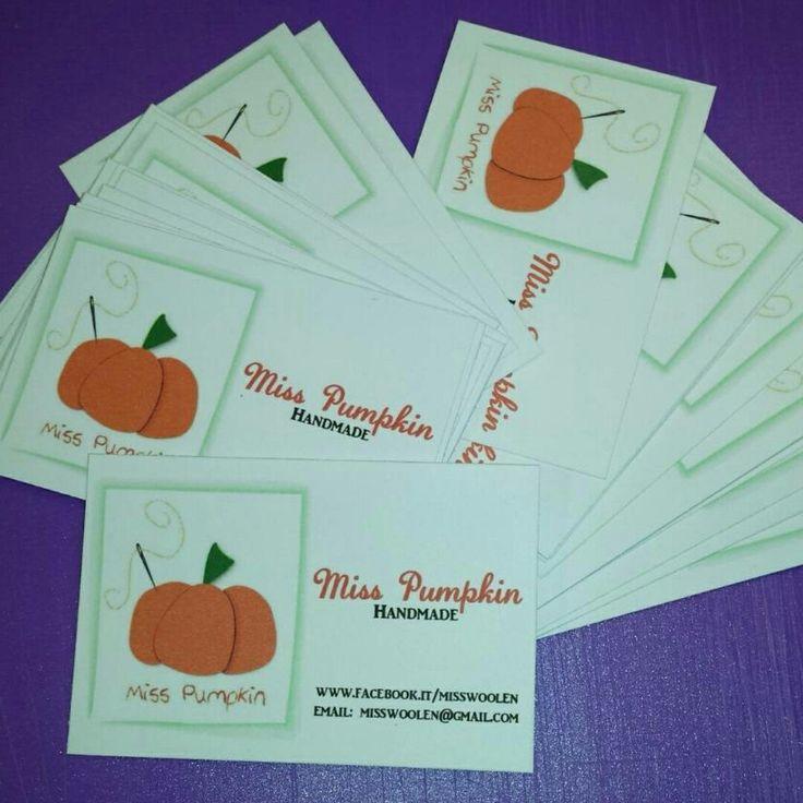 Bigliettini in partenza per miss pumpkin