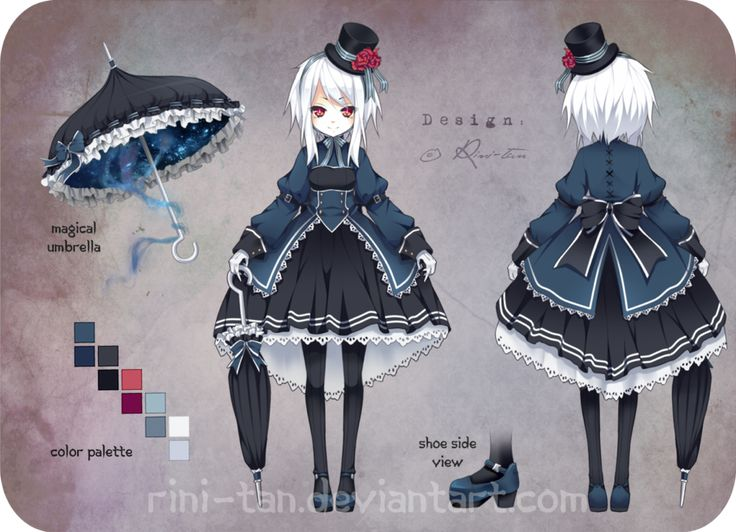 Adoptable ~ Evil Lady [SOLD!] by Rini-tan on deviantART