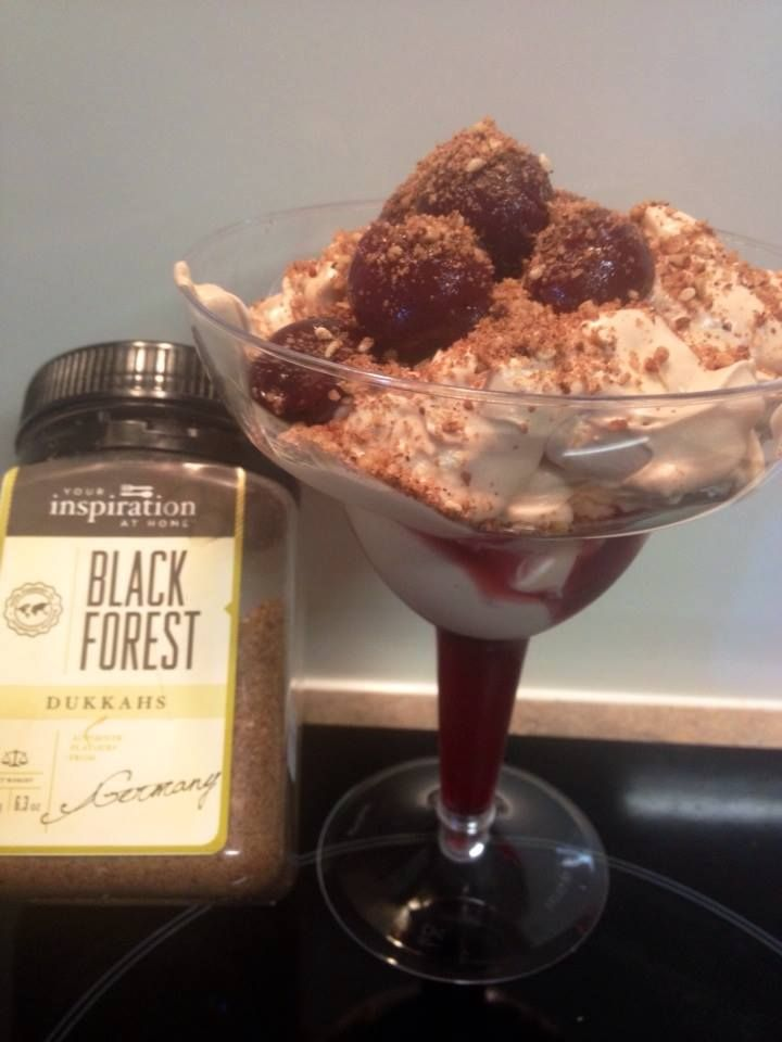 My YIAH Black Forest Mess One of the easiest and scrumptious desserts you could ever create