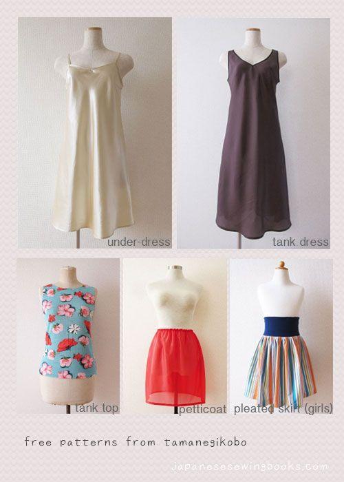 Free Japanese Sewing Pattern – Tamanegi Kobo By Japanese Sewing Books · On October 1, 2012