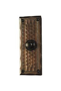 hand crafted arts and crafts style copper door bell button  sc 1 st  Pinterest & 29 best Doorbells images on Pinterest   Craftsman style Hammered ... pezcame.com