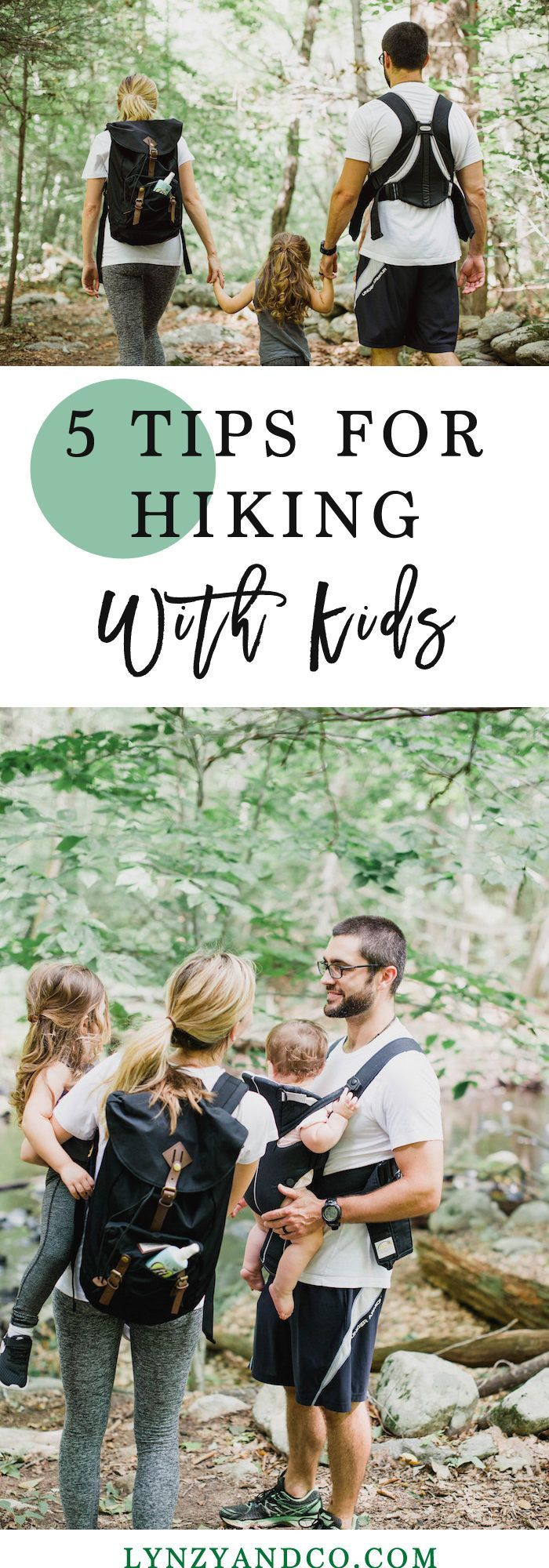 5 TIPS FOR HIKING WITH KIDS