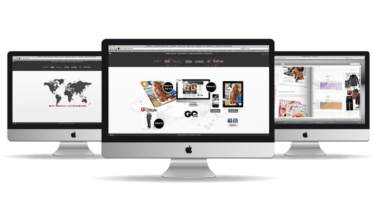 Ediciones Condé Nast. Portal web.