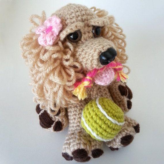 Crochet dog. crochet amigurumi dog. Cocker Spaniel. by LilCuddles