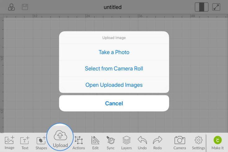 Learn more about the new image upload feature in our Design Space iOS App