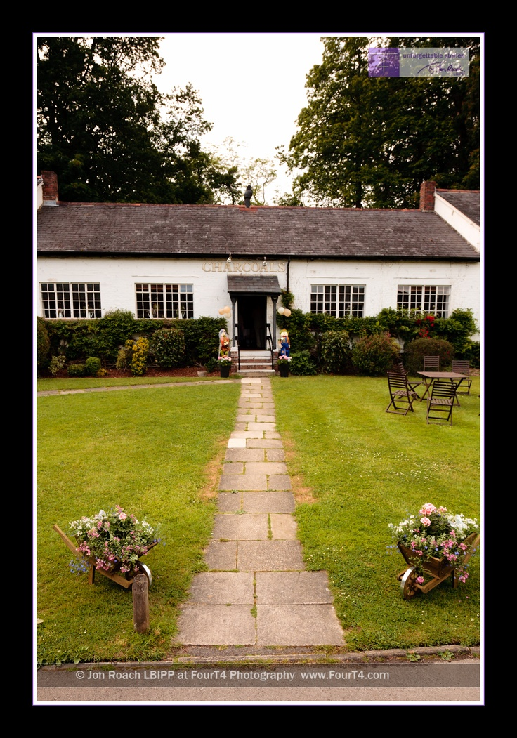 Evening Reception Venue At The Burley Manor Hotel New Forest Hampshire