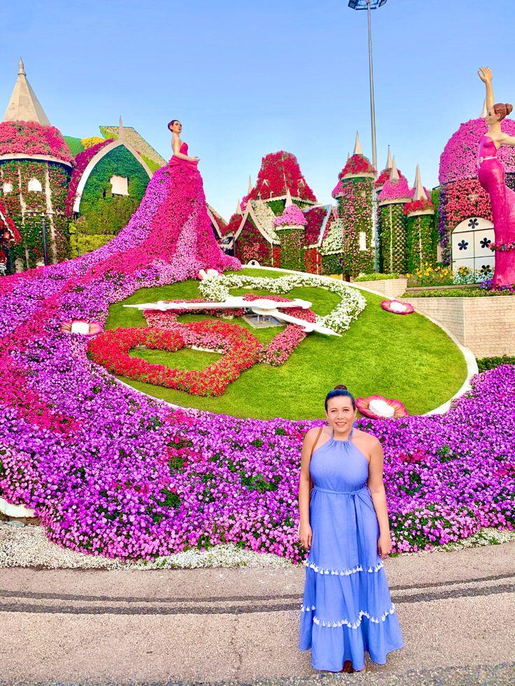Miracle Garden Dubai in 2020 Dubai travel guide, Dubai