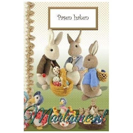 haakboek Pasen - Anja Toonen