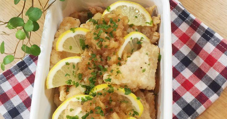 【作り置き】鱈のレモン黒酢玉ねぎマリネ♪ by sachi825 [クックパッド] 簡単おいしいみんなのレシピが262万品
