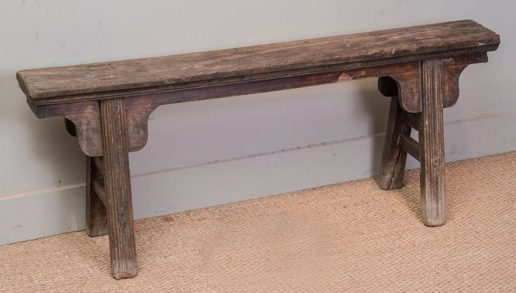 Chinese Rustic Narrow Bench Benches Art Furniture And Art
