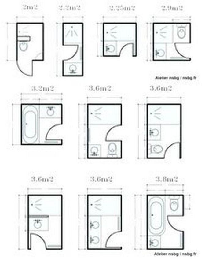 95 Nice Small Full Bathroom Layout Ideas Getideas In 2020 Small Bathroom Plans Bathroom Floor Plans Small Bathroom Floor Plans