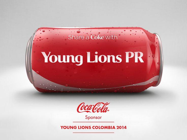 Después de ser cliente del año en Cannes,@CocaColaCo llega para ser el patrocinador de Young Lions PR, la nueva categoría de #YoungLionsCo 2014.  Encuentre toda la información de Young  http://www.younglionscolombia.com/