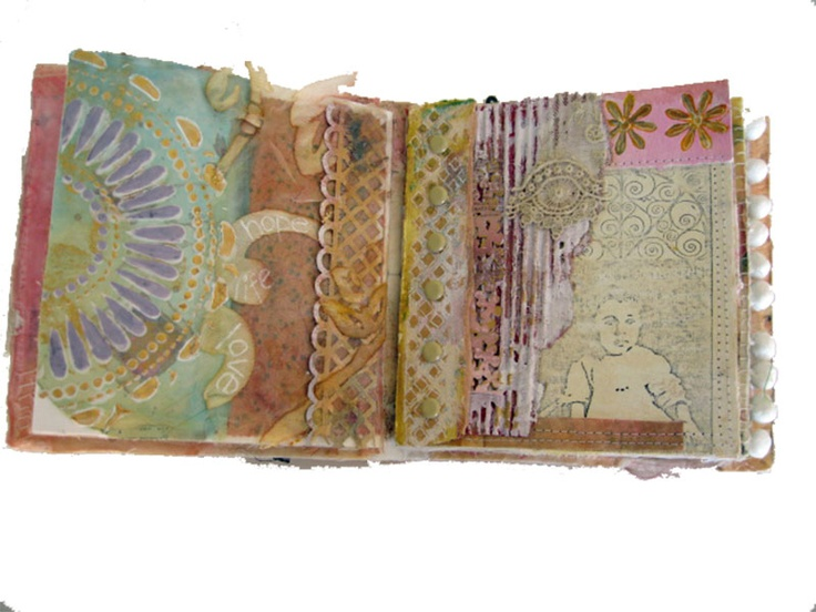altered book by Beryl Taylor