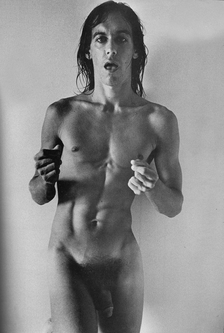 Iggy Pop in New York City. Photo by Gerard Malanga. September 1971.