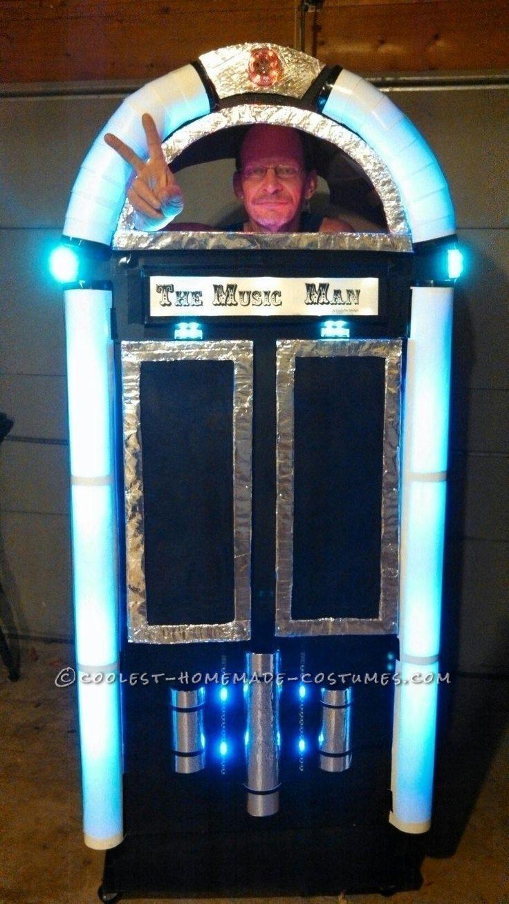 cool homemade music man juke box costume - Cool Homemade Stuff