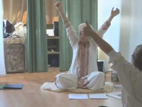 Laughter Yoga, Sweat and Laugh with Kundalini Yoga (laughter part comes towards end of video!)
