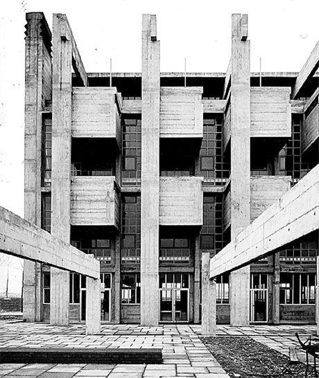 brutalisme lucien herv architecture mouvement. Black Bedroom Furniture Sets. Home Design Ideas