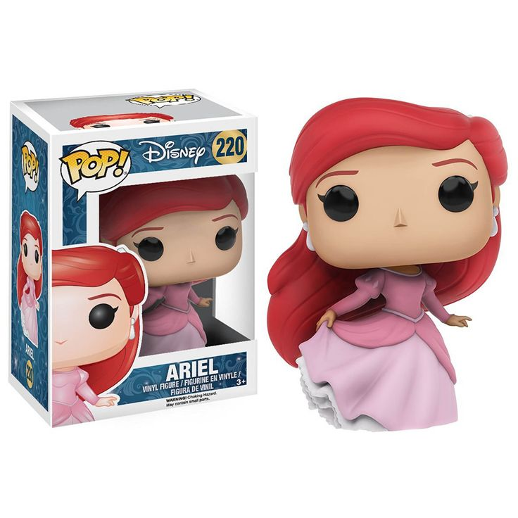 This is a Disney Little Mermaid POP Ariel Vinyl Figure. It's produced by the good folks over at Funko and features Ariel in her princess gown. Super cute! Great for any fan of the Little Mermaid. Neat                                                                                                                                                                                 More