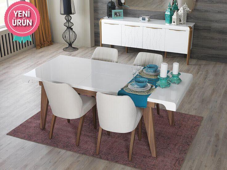 Cream Modern Yemek Odası sadeliğini ve şıklığını evinize yansıtıyor!     #Modern #Furniture #Mobilya #Pırlanta #Yemek #Odası #Sönmez #Home #EnGüzelAnlara #YeniSezon #Praga #YemekOdası #Home #HomeDesign  #Design #Decoration #Ev #Evlilik #Wedding #Çeyiz #Konfor #Rahat #Renk #Salon #Mobilya #Çeyiz  #Kumaş #Stil #Tasarım #Furniture #Tarz #Dekorasyon #Vitrin