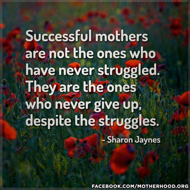 Strong Mother Quotes: Stay Strong Single Moms!