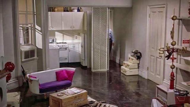 wnętrze Śniadanie u Tiffany'ego lata 60te