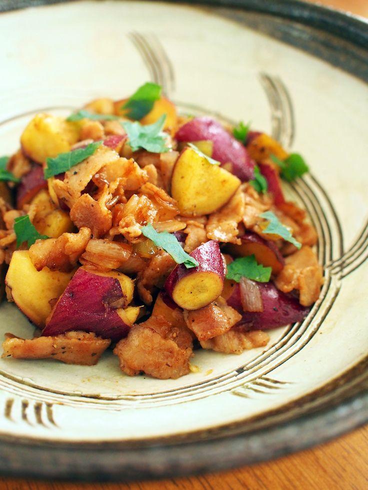 サツマイモの焼肉のタレ炒め by 加瀬 まなみ   レシピサイト「Nadia   ナディア」プロの料理を無料で検索