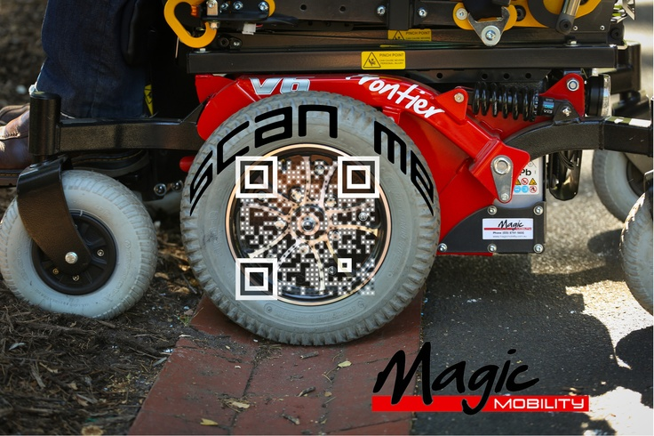 Scan with a QR/Barcode code reader to find out more!
