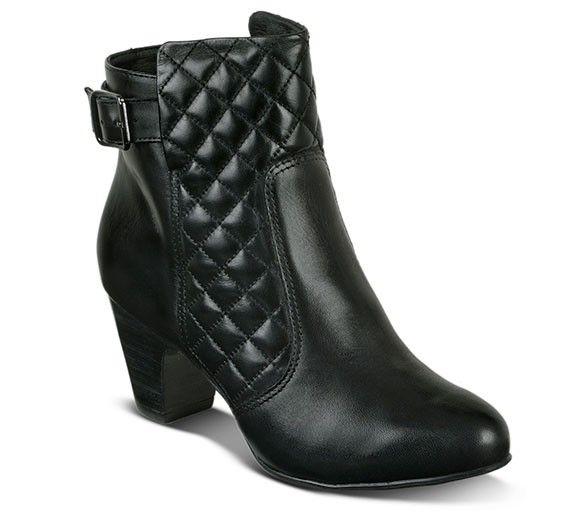 Bota cano baixo na cor preta | Botas | Bottero Calçados
