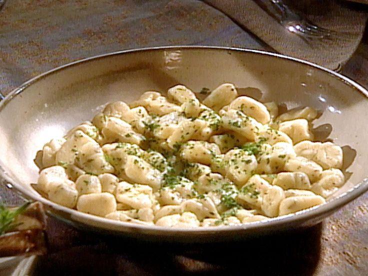 Potato Gnocchi recipe from Sara's Secrets via Food Network