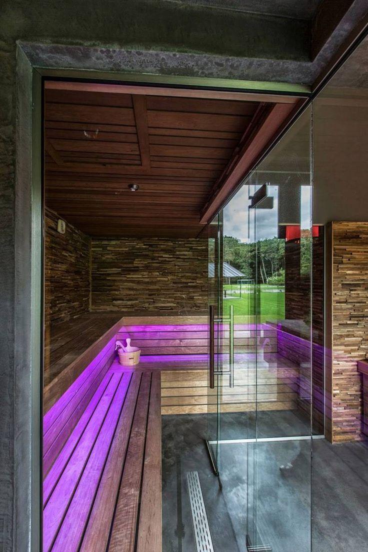 Дизайн интерьера оздоровительной виллы от Стивена Versteegh