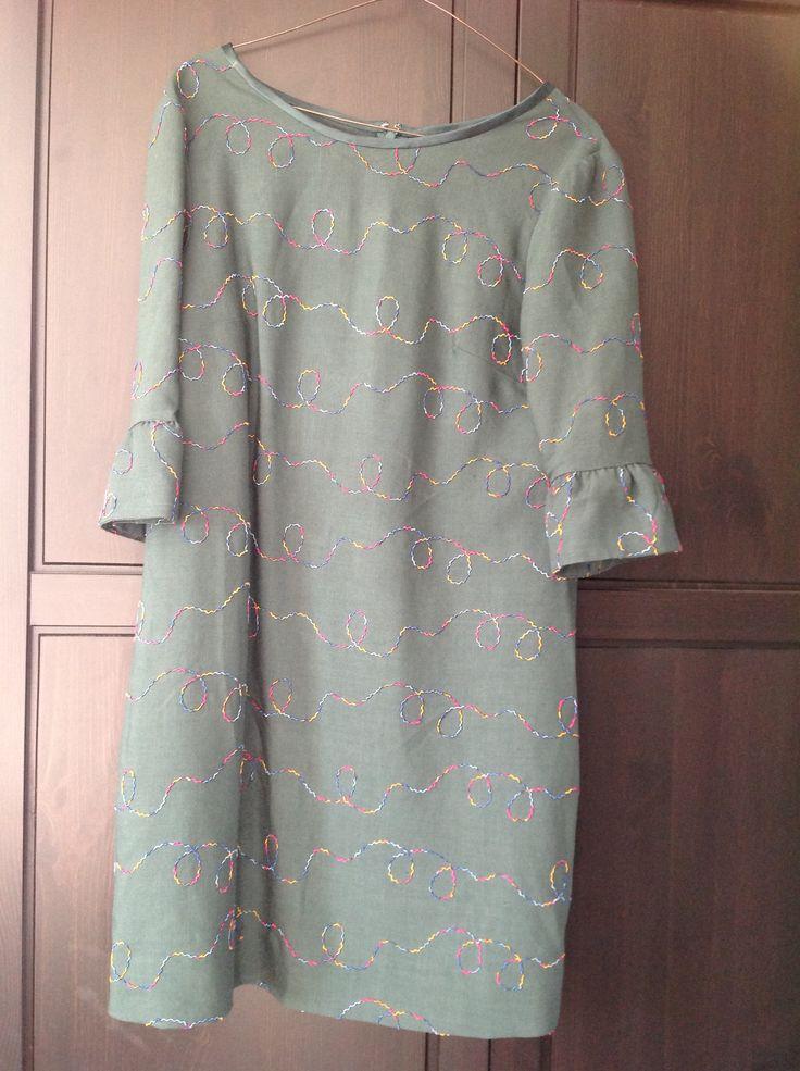 Colette Laurel dress (my Chritmas Tree dress!).